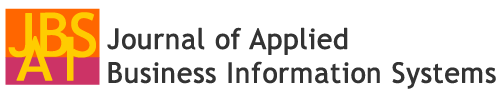 Journal of Applied Business Information Systems